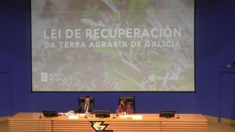 Inauguración da xornada - Xornada A Lei de recuperación da terra agraria de Galicia.